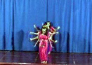 Bollywood dance style